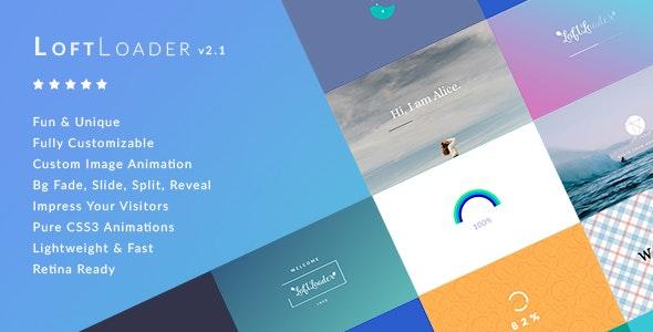 【WordPress插件】LoftLoader Pro v2.1.1 - WordPress预加载插件